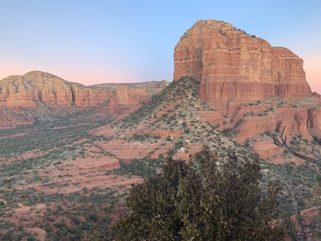 The Sunset in the beautiful Coconino National Forest near Sedona, AZ